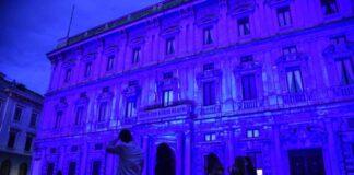 palazzo marino viola