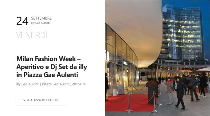 illy milano fashion week